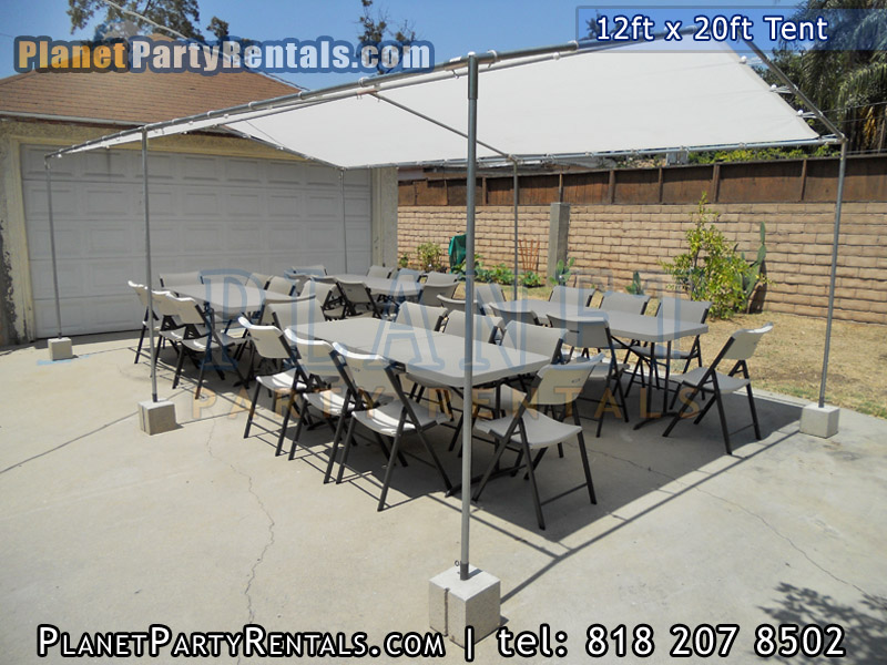 Tables. Chairs. Linen - Prices and Images & Tent 12ft x 20ft|Size and Prices|Canopy Tent rentals Van Nuys ...