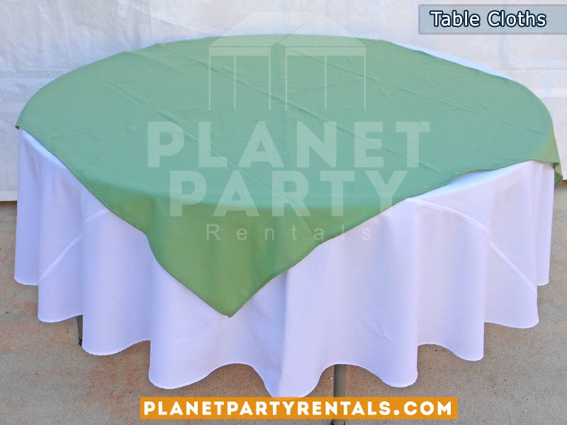 Table Cloths Linens Runners And Diamonds Round Tables