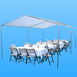 jumper for rent tables for rent ... & Canopy Rental 10ft x 30ft|Canopy Tent Rentals|Prices and Packages ...