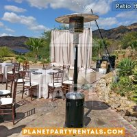 Propane Patio Heaters | Party Rentals