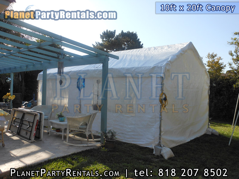Canopy Rentals in the San Fernando Valley we carry 10feet x 20 feet, 10feet x 30feet, 20feet x 30feet, 12ft x 20ft | Canopy party tents for rent available in the San Fernando Valley Calabasas and Santa Clarita