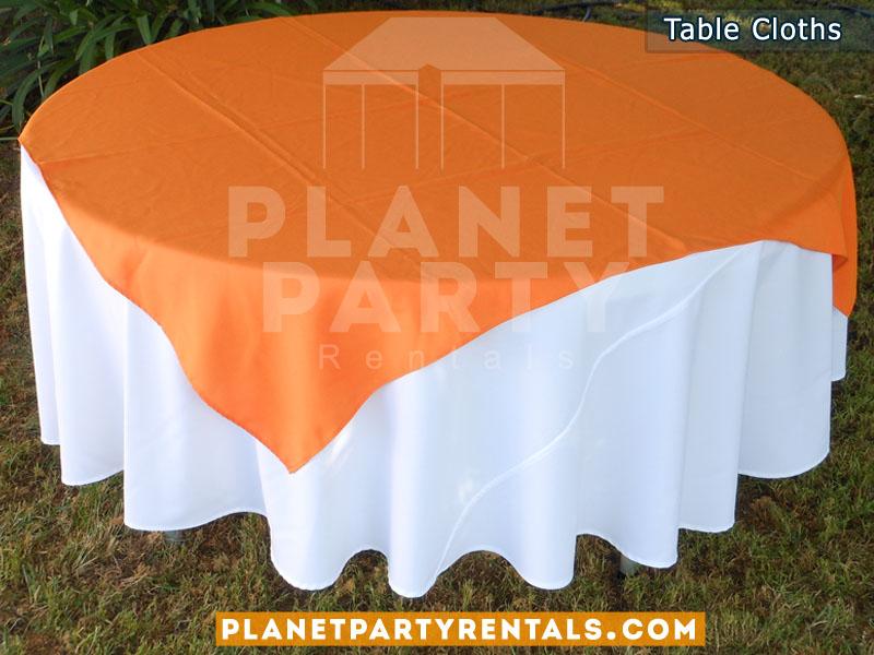 Tablecloth  Linen Rentals Party RentalsTentsTablesChairs - Table linens rentals