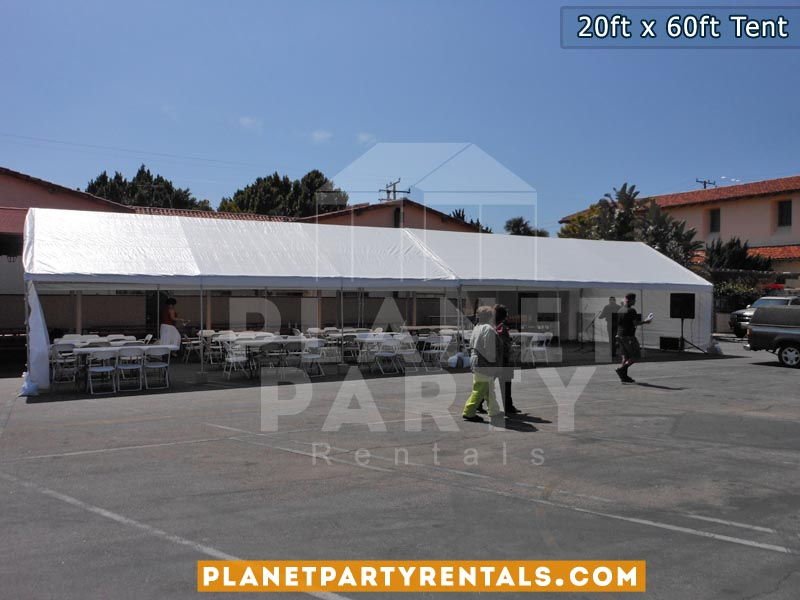 20x60 Large White Party Tent